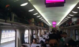 Mi viaje de 23 horas de pie, ruta Beijing - Guangzhou